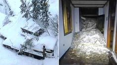 'Many dead' after avalanche hits Italy hotel