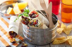 These veggie chilli bean and corn tortilla wraps make the perfect light lunch and are great for enjoying on the go.  | Tesco