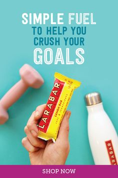 LÄRABAR is an easy clean snack that serves as the perfect pre-workout fuel. And made with just few simple ingredients, this will be the easiest choice you'll need to make today. Margarita Recipes, Smoothie Recipes, Bloody Mary Recipes, Jambalaya Recipe, Diner Recipes, Eggnog Recipe, Macaroon Recipes, Pulled Pork Recipes, Deviled Eggs Recipe