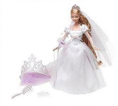 AmazonSmile: Barbie Princess - Rapunzel's Wedding - Rapunzel's Wedding Doll: Toys & Games