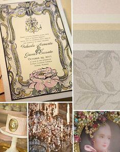 Inspirations – Marie Antoinette Wedding Chic