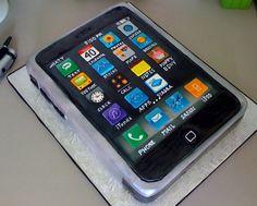 Mobile phone cake Koko Choco Bakery Pinterest Iphone cake