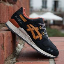 asics GEL LYTE III   BLACK / TAN