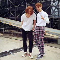 150322 Heechul's instagram update with BAEKHYUN https://instagram.com/p/0iFCMwo-aH