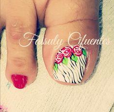 Cute Toe Nails, Cute Toes, Toe Nail Art, Cute Pedicures, Toe Nail Designs, Gorgeous Feet, You Are Awesome, Nailart, Videos