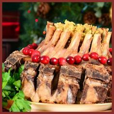 Stuffed Crown Roast of Pork Recipe by Traeger Grills Best Pork Recipe, Pork Roast Recipes, Traeger Recipes, Grilling Recipes, Slow Cooker Recipes, Cooking Recipes, Crockpot Meals, Yummy Recipes, Recipies