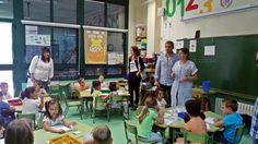 El equipo de gobierno visita el CEIP Pintor Camarón