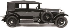 1922 SPYKER C4 ALL-WEATHER COUPÉ