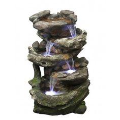 Fuente de agua con 4 cascadas                                                                                                                                                                                 Más