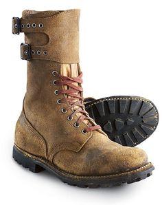 world war 2 boots - Buscar con Google                                                                                                                                                                                 Mais