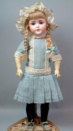 "Beyond Gorgeous 25"" Schoenau Hoffmeister 5800 Antique Doll Antique Outfit | eBay"