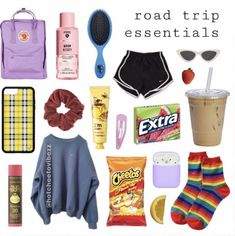 Road Trip Checklist, Travel Packing Checklist, Packing List For Vacation, Road Trip Hacks, Packing Lists, Cruise Vacation, Disney Cruise, Vacation Destinations, Travel Essentials List