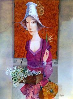 Merab Gagiladze - Flowergirl