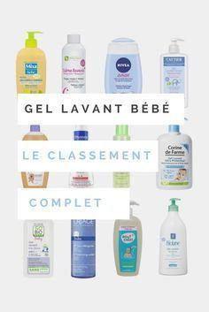 Gel lavant bébé : classé par composition. Etude des ingrédients pour découvrir lesquels sont les plus clean et ceux à éviter.