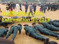 NATIONAL DEFENCE ACADEMY & NAVAL ACADEMY EXAMINATION NOTIFICATION (II), 2015 http://www.ncaacademy.com/national-defence-academy-naval-academy-examination-notification-2-2015/
