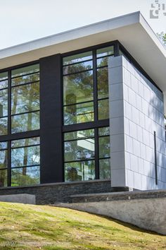 Private Residence - Atlanta, GA - Zinc Panels - Natural Finish