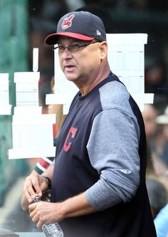Cleveland Indians manager Terry Francona was back in the Indians dugout after missing a game due to illness, against the Texas Rangers at Progressive Field, on June 28, 2017. (Chuck Crow/The Plain Dealer). Indians won 5-3