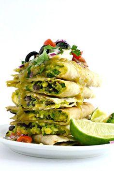 Enchilada Quesadillas 2b