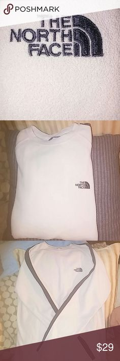 The North Face fleece Never worn, very nice North Face light fleece. This could be for a male or female as the beige is very neutral. Excellent condition. The North Face Shirts Sweatshirts & Hoodies