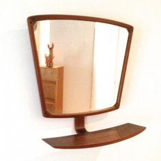 Danish Design Mirror by Unknown Designer for Unknown Manufacturer