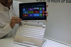 Upcoming Acer Iconia W510 - slick idea of combo laptop and touch tablet. Tablet is detachable from laptop keyboard.