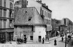 L'ancien manoir de Gabrielle d'Estrées, Paris 18ème, 1900