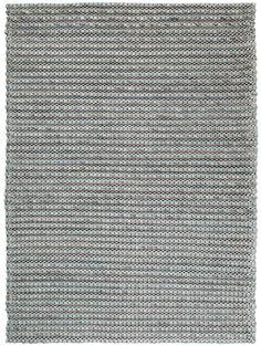 Pune Wool Plain Rug Turquoise