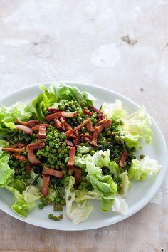 Pea & Bacon Salad