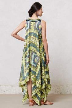 Sahila Maxi Dress - Anthropologie Look for this pattern or figure it out! TL