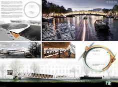 Resultado Concurso: Ponte para Pedestres em Amsterdã,1º Prêmio: Nicolas Montesano, Victor Vila, Boris Hoppek