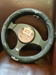 Is your dad a Top Gear fan? If so, this fabulous leather steering wheel cover from RM Williams might be just the thing. £34.95 from Luck of Louth.