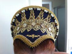 Elizabethan Costume:  French Hood - (Theatrical Version). #Renaissance