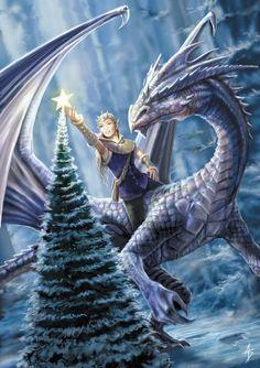 Dragon noël