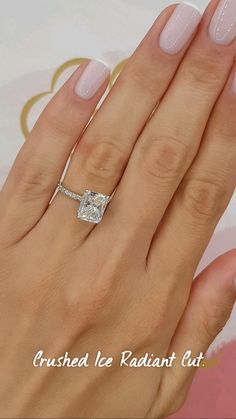 Cute Engagement Rings, Radiant Engagement Rings, Princess Cut Engagement Rings, Moissanite Engagement Rings, Engagement Nails, Timeless Engagement Ring, Celebrity Engagement Rings, Gold Band Wedding Rings, Circle Wedding Rings