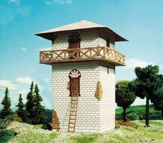 Roman watchtower cardboard puzzle cardboard puzzle, model Dimensions: 8 x 8 x 13 cm Number of sheets with pieces:: 2 difficulty Scale: Suitable for Railways Roman Architecture, Historical Architecture, Model Building Kits, Building Design, Luxury Chess Sets, Renaissance, Jungle House, Tower House, Water Tower