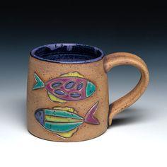 Sarah McCarthy mug-square-web Pottery, Clay, Mugs, Tableware, Ceramica, Clays, Dinnerware, Pottery Marks, Tumblers