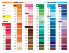 19 Unique Satin Ice Color Chart