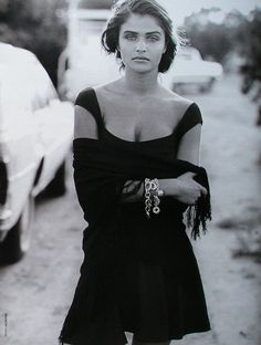 Helena Christensen by Peter Lindbergh 1992