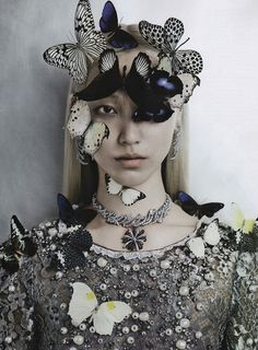 Soo Joo by Kevin Mackintosh for Vogue Italia Sept 2012