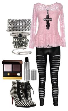 """""""Pastel Goth"""" by rachie888 ❤ liked on Polyvore featuring Boohoo, Bleifrei, Mystic Light, Bao Bao by Issey Miyake, David Yurman, Jules Smith, Tom Ford, goth, pastel and pastelgoth"""