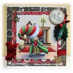 Galleries :: Whimsical - Digital & Rubber Stamps for Every Scene - Make it Crafty
