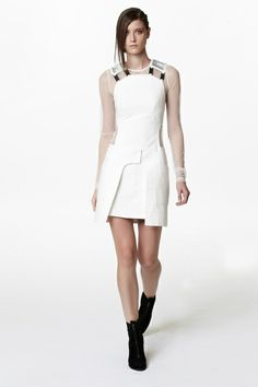 Jeremy Laing Spring 2013 Ready-to-Wear Collection Slideshow on Style.com    I like the All White w/Black Ankle Boot!