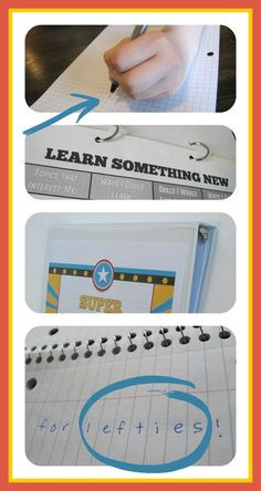 Simple ideas to make life easier for lefties, plus a blog hop full of bright ideas!