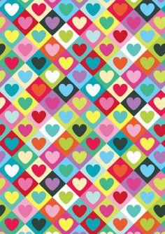 Roger la Borde | Heart Scrabble greeting card #ValentinesDay