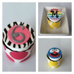 Fondant Cupcake Toppers // Sugared Up