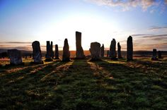 Callanish standing stones at dawn, Isle of Lewis, Scotland (c)iancowe