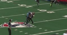 Watch through the eyes of Philadelphia Soul DB Rayshaun Kizer as he lights up an opposing receiver in Arena Football League action.