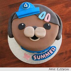 Octonauts cake Summer loves her kwazzi kitten Cakes Pinterest