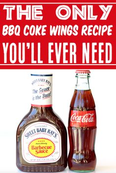 Crockpot Chicken Recipes - Easy BBQ Wings Recipe! Simply take your favorite classic Coca Cola flavor and mix it with a sweet and sassy barbecue sauce… and voila, you've got an unforgettable sauce that is perfect for slathering all over your favorite party snack! Go grab the recipe and give it a try!