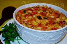 Feijão Branco com Molho de Tomates ~ Veganana